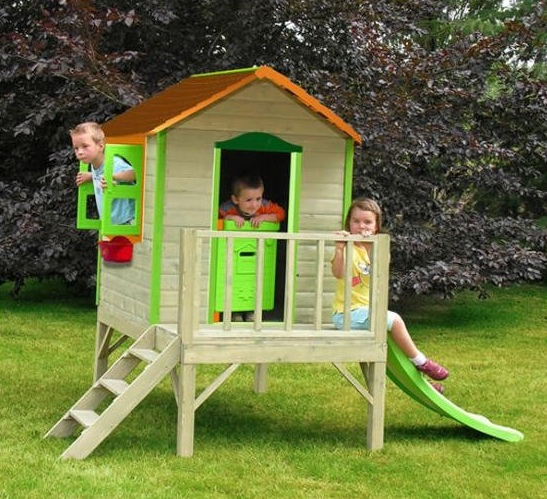 Детские домики для сада своими руками